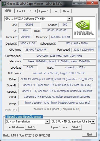 NVIDIA R320.49 Beta Driver