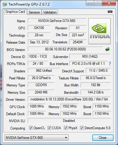 GPU-Z 0.7.2
