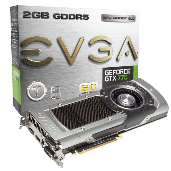 EVGA GTX 770 with Titan-like Cooler