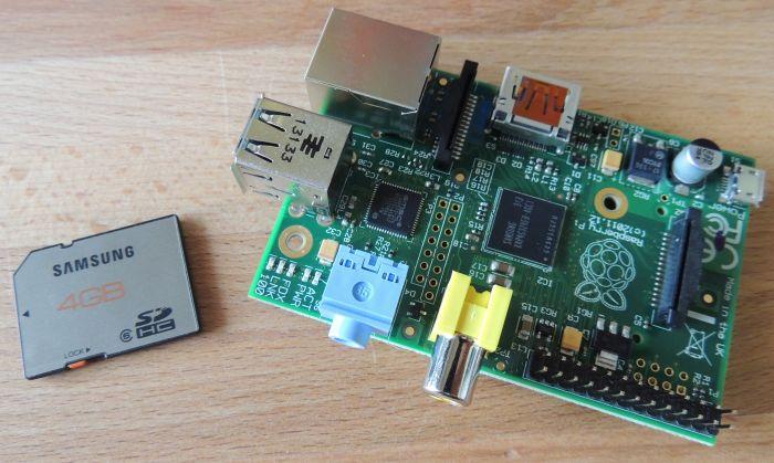 Raspberry Pi Model B board