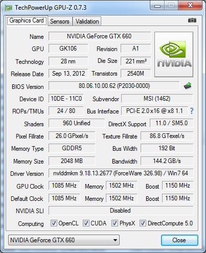 GPU-Z 0.7.3