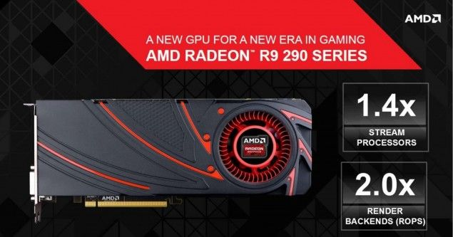AMD Radeon R9 290X and R9 290 Complete Specs and Slides
