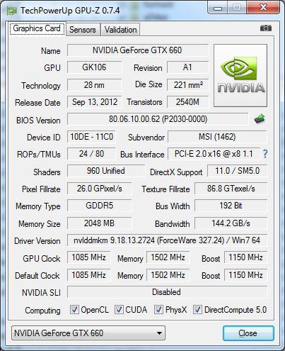 GPU-Z 0.7.4