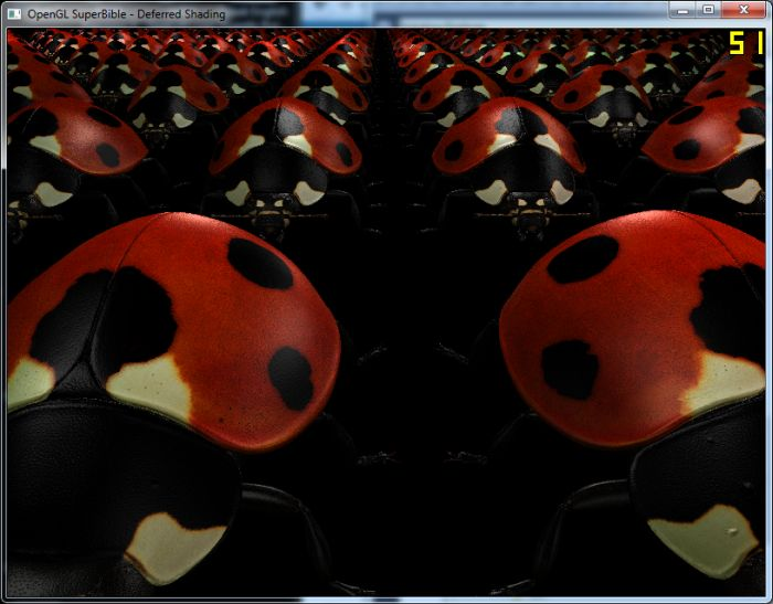 OpenGL SuperBible 6 demo