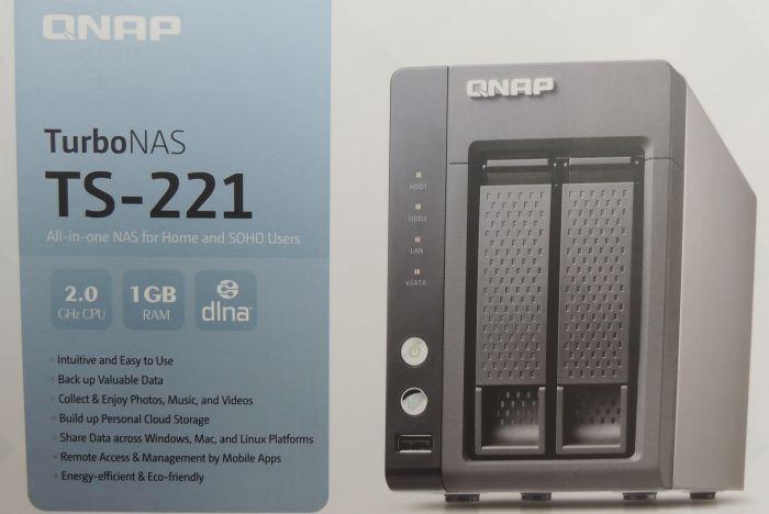 Qnap TS-221 NAS review