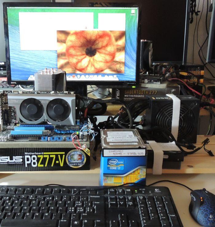 Hackintosh, OS X 10.9, ASUS P8Z77-V + Radeon HD 5770