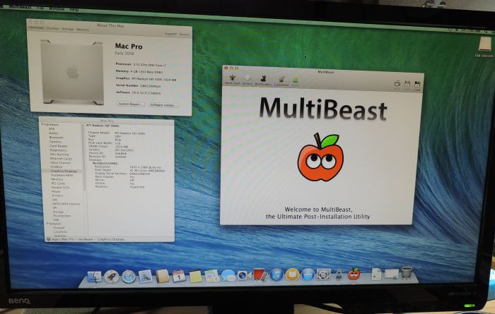 Hackintosh, OS X 10.9, MultiBeast