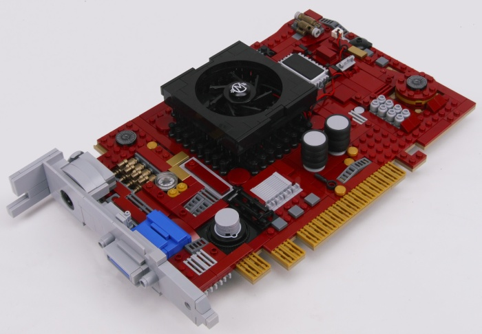 LEGO Graphics Card with 1640 Cores
