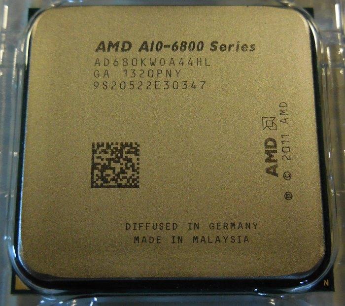 AMD A10-6800K processor