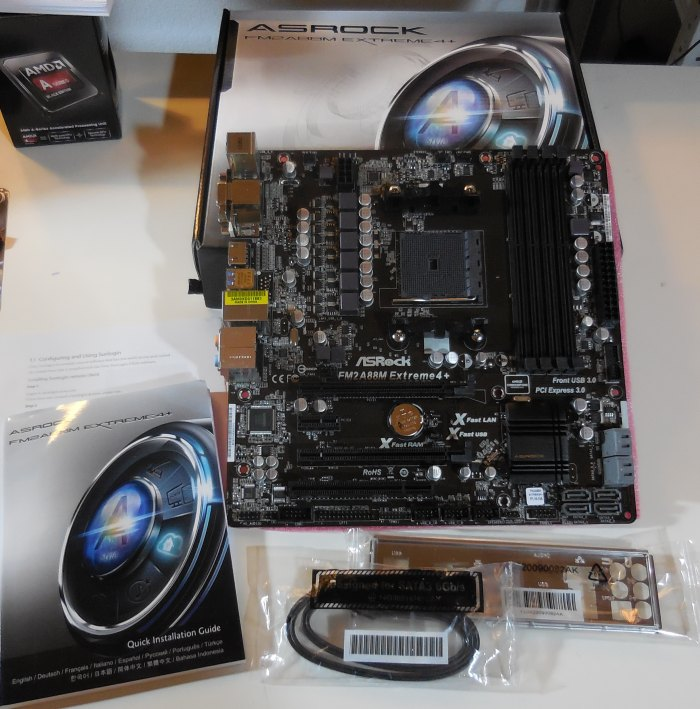 ASRock FM2A88M Extreme4+ motherboard