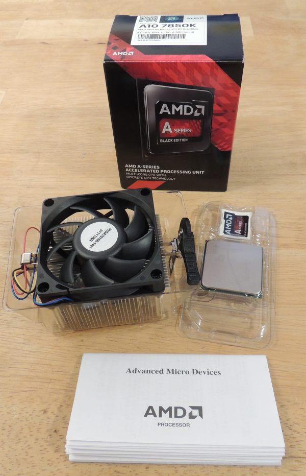 AMD Kaveri APU A10-7850K, box