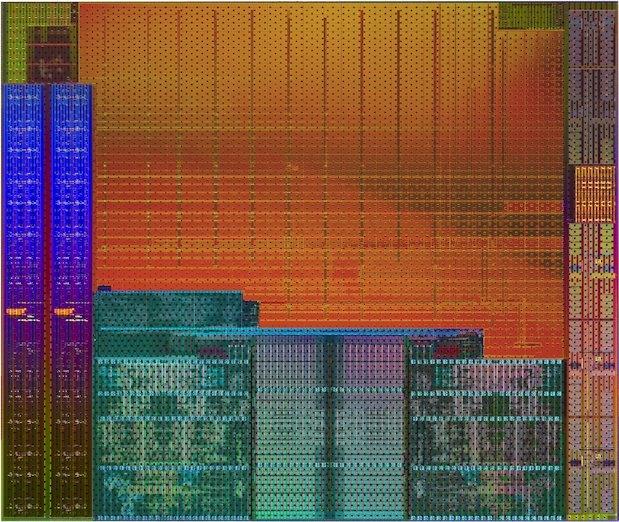 AMD Kaveri silicon die