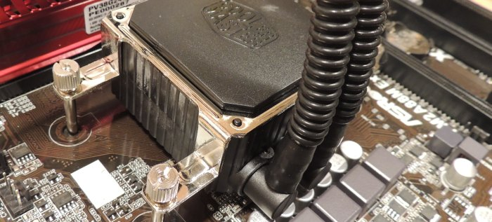 Cooler Master Seidon 120v Liquid CPU Cooler tested on AMD A10-6800K APU