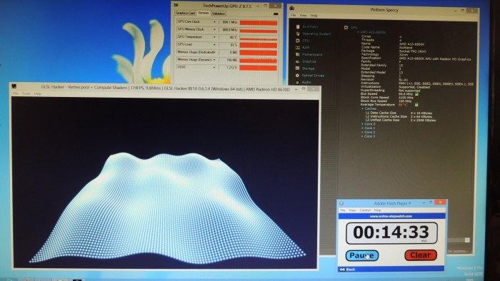 Cooler Master Seidon 120v CPU cooler, GLSL Hacker, OpenGL 4.3 compute shader test