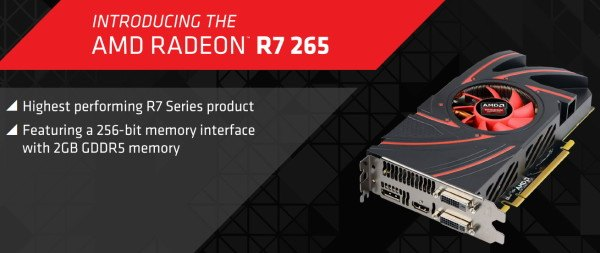 AMD Radeon R7 265 2GB