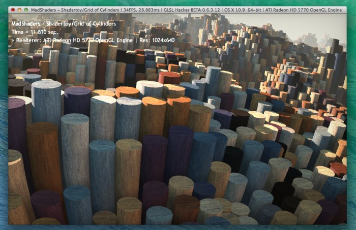 MadShaders 0.3.0, GLSL demo