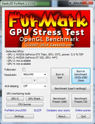 FurMark 1.13.0