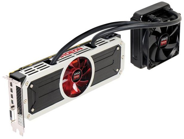 AMD Radeon R9 295X2 dual-GPU Graphics Card, 500W TDP and