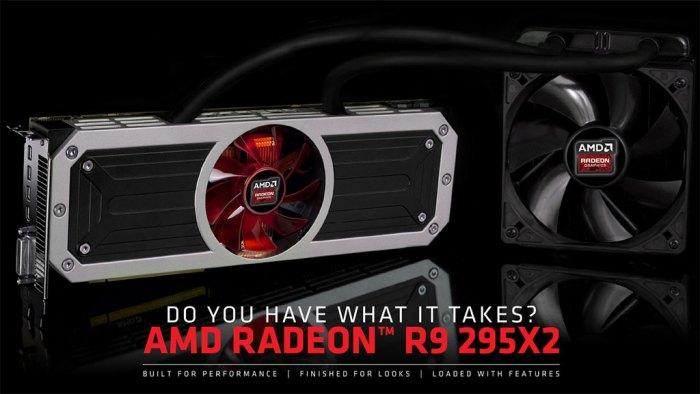 AMD Radeon R9 295X2 dual-GPU