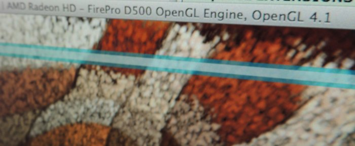 Mac Pro Late 2013, FirePro D500, OpenGL benchmarks