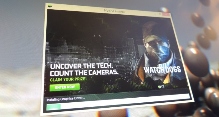 NVIDIA R337.88 WHQL Watch Dogs Optimized Graphics Driver