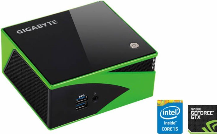 GIGABYTE Brix Gaming Compact PC Kit with NVIDIA or AMD GPU