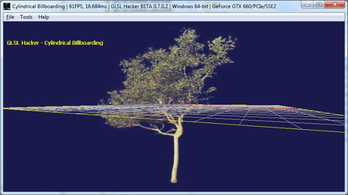 GLSL Hacker - Billboarding in the vertex shader