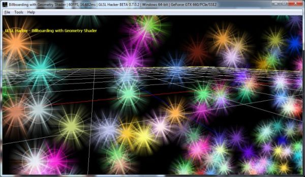 Particle Billboarding with the Geometry Shader (GLSL)
