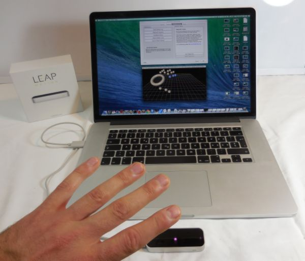 GLSL Hacker - Leap Motion