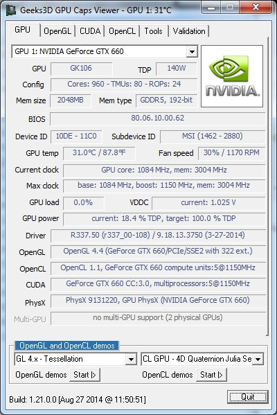 GPU Caps Viewer 1.21.0