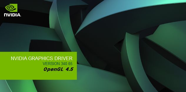 NVIDIA R340.65 graphics driver installer