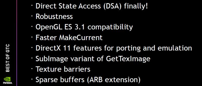 OpenGL 4.5 update for NVIDIA GPUs