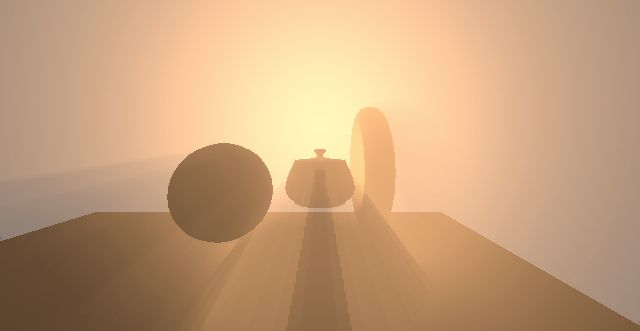 Dynamic Volumetric Lighting and Shadowing with Temporal Upsampling