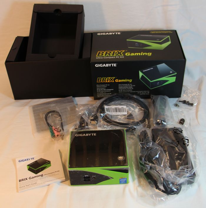 GIGABYTE BRIX GTX 760 Compact Gaming PC Kit