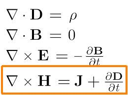 Maxwell's electromagnetic field equations