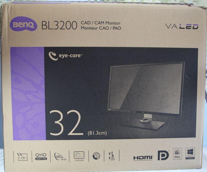 Benq BL3200: 32-inch QHD LED Monitor
