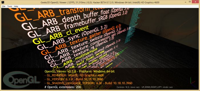 GLSL Hacker OpenGL Viewer