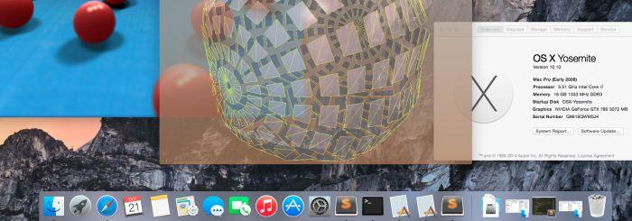 Hackinstosh Updated with OSX 10 10 Yosemite | Geeks3D