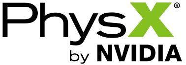 NVIDIA PhysX logo