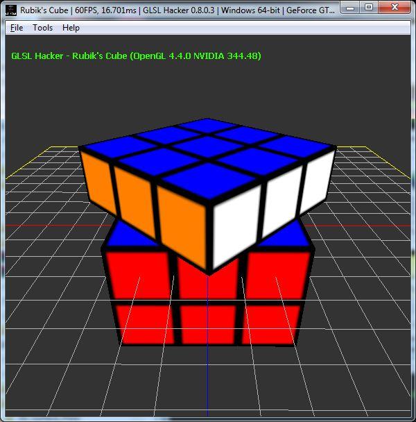 Rubik's Cube cubelet rotation