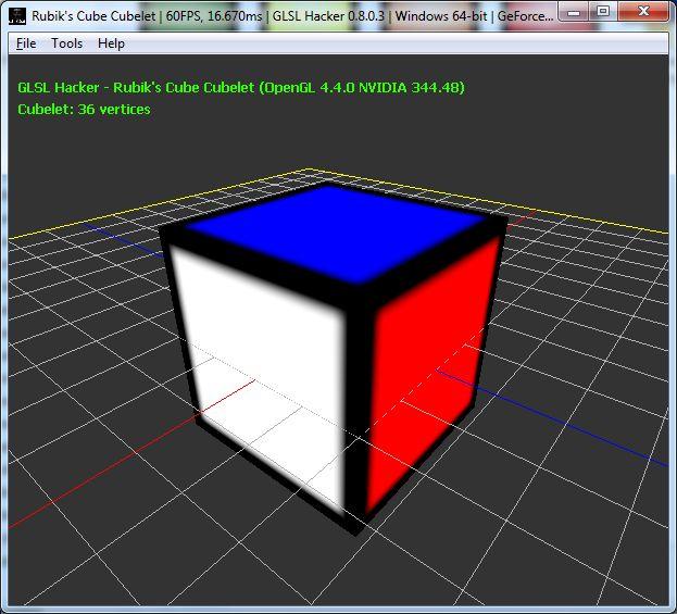 Rubik's Cube cubelet color