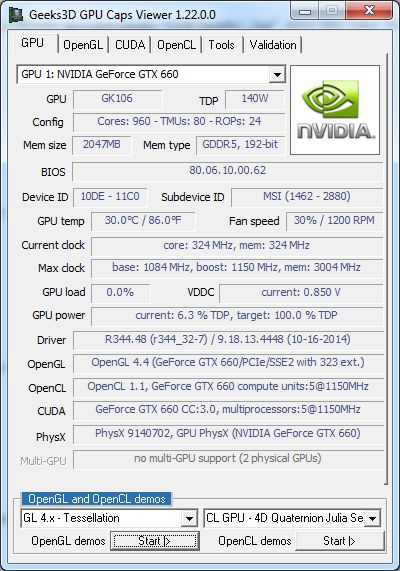 GPU Caps Viewer 1.22.0