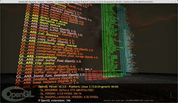NVIDIA R346.16 for Linux - GLSL Hacker