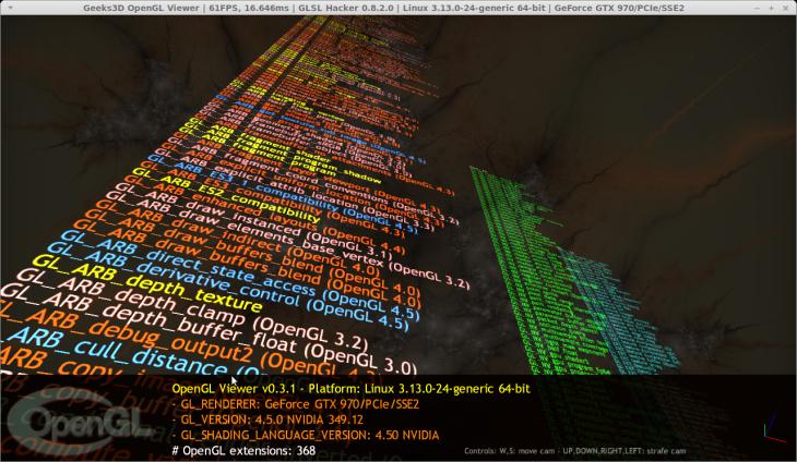 NVIDIA R349.12 - Linux - GeForce GTX 970