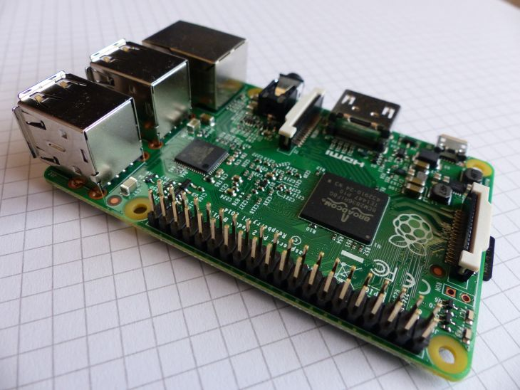 Raspberry Pi GPIO connector