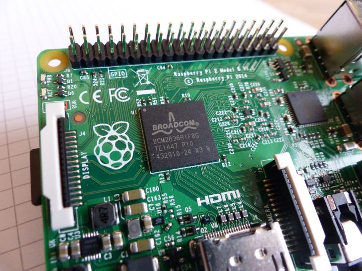 Raspberry Pi GPIO connector explained