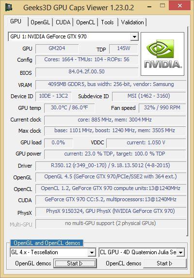 350 12 nvidia  for windows