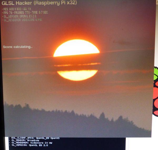 Raspberry Pi 2 GPU OpenGL benchmark
