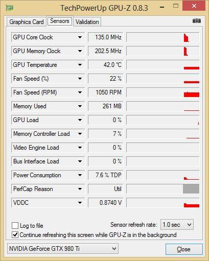 ASUS GTX 980 Ti - GPU-Z