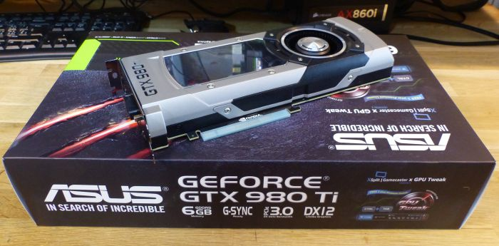ASUS GTX 980 Ti - gaming graphics card